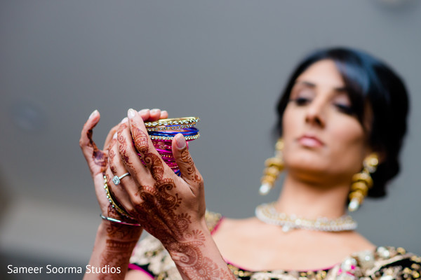 indian bride getting ready,indian weddings,indian church wedding