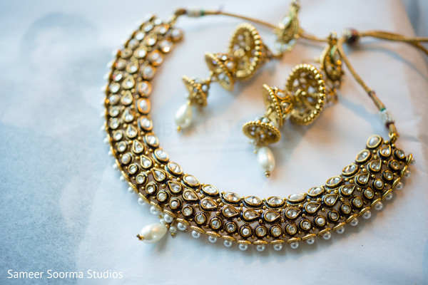 Bridal Jewelry in Phoenix, AZ Fusion Wedding by Sameer Soorma Studios