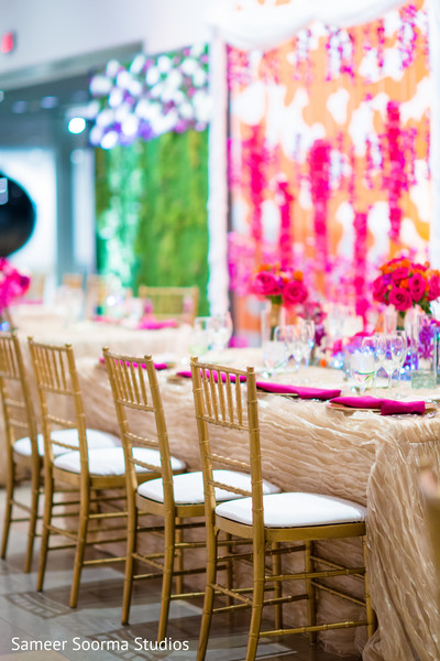 Reception Decor in Phoenix, AZ Fusion Wedding by Sameer Soorma Studios