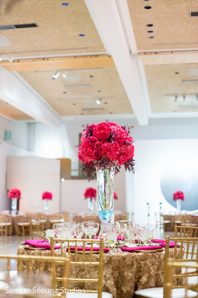 Centerpieces in Phoenix, AZ Fusion Wedding by Sameer Soorma Studios