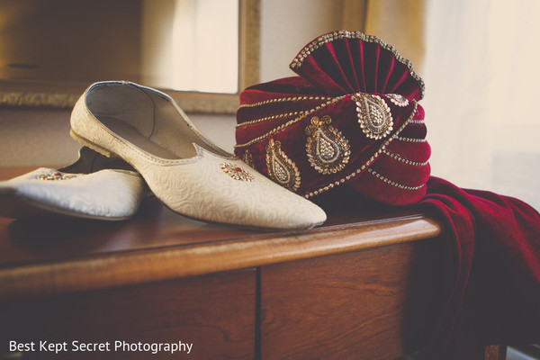 Groom Fashion in Ontario, Canada Indian Wedding by Best Kept Secret Photography