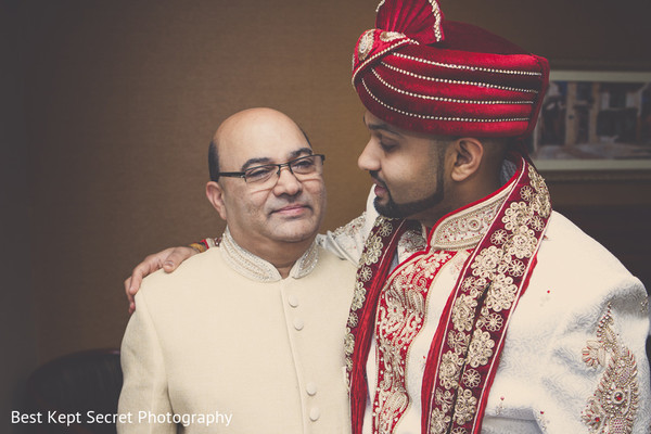 Groom Getting Ready in Ontario, Canada Indian Wedding by Best Kept Secret Photography