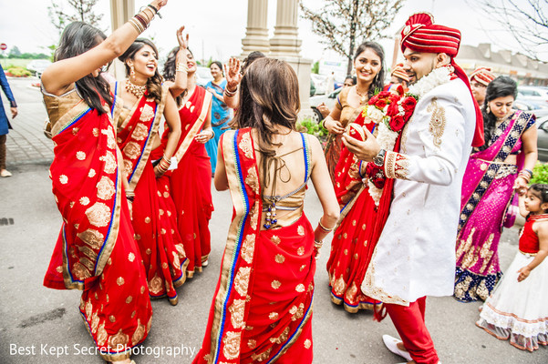 Baraat in Ontario, Canada Indian Wedding by Best Kept Secret Photography