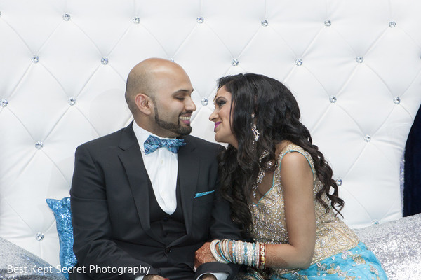 Reception in Ontario, Canada Indian Wedding by Best Kept Secret Photography