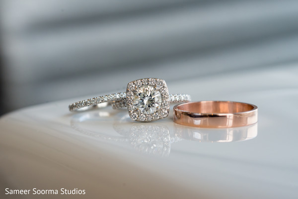 Wedding Rings in Phoenix, AZ Fusion Wedding by Sameer Soorma Studios