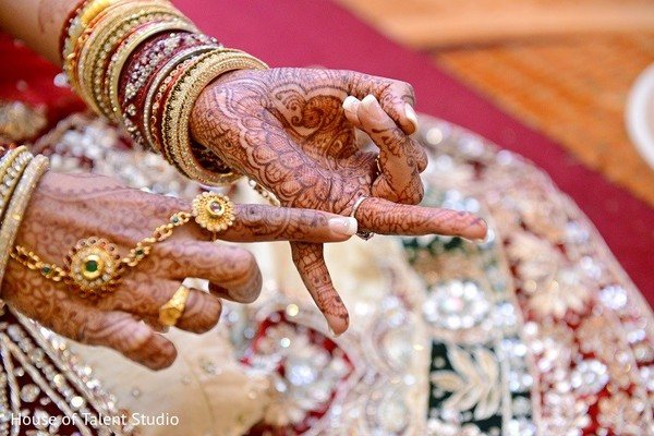 Mehndi in Bridgewater, NJ Indian Wedding by House of Talent Studio
