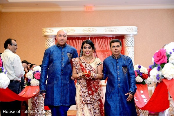 Ceremony in Bridgewater, NJ Indian Wedding by House of Talent Studio