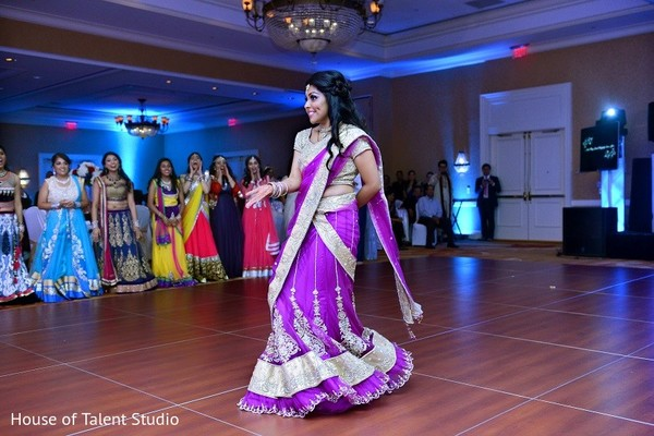 Reception in Bridgewater, NJ Indian Wedding by House of Talent Studio
