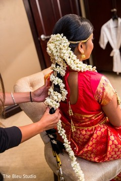 Fantastic Inspiration Photo Gallery Indian Weddings South Indian Bridal Short Hairstyles For Black Women Fulllsitofus
