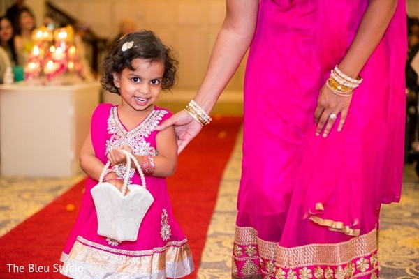 Ceremony in Somerset, NJ Indian Wedding by The Bleu Studio