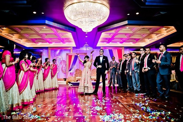 Reception In Somerset Nj Indian Wedding By The Bleu