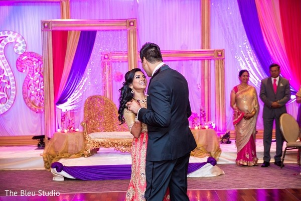 Reception in Somerset, NJ Indian Wedding by The Bleu Studio