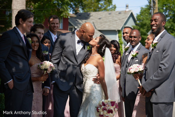 Wedding Party Portraits in Ontario, Canada Fusion Wedding by  Mark Anthony Studios