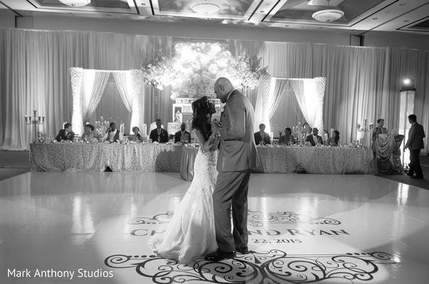 First Dance in Ontario, Canada Fusion Wedding by  Mark Anthony Studios