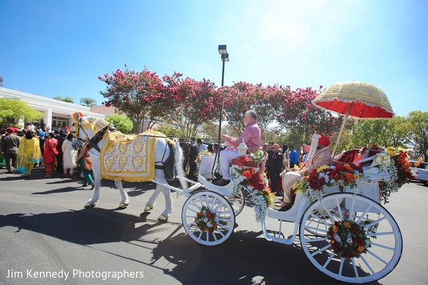 Baraat in Westlake Village, CA Sikh Wedding by Jim Kennedy Photographers