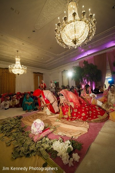Ceremony in Westlake Village, CA Sikh Wedding by Jim Kennedy Photographers