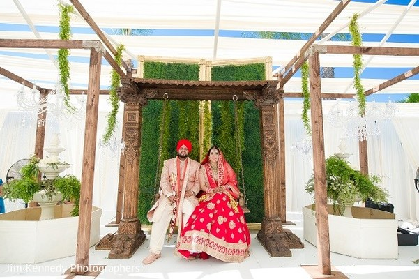 Luncheon in Westlake Village, CA Sikh Wedding by Jim Kennedy Photographers