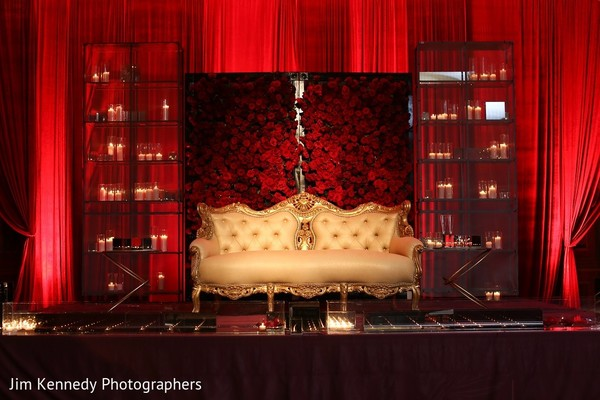 Floral & Decor in Westlake Village, CA Sikh Wedding by Jim Kennedy Photographers