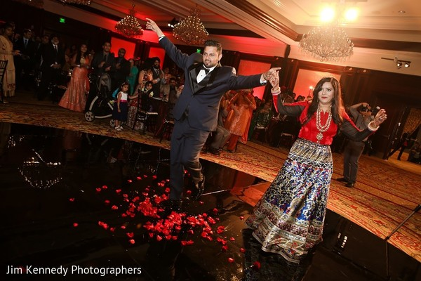 Reception in Westlake Village, CA Sikh Wedding by Jim Kennedy Photographers