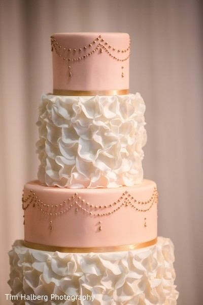 Cakes & Treats in Pleasanton, CA Indian Wedding by Tim Halberg Photography