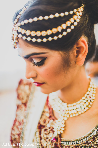 Getting Ready in Charlotte, NC Indian Wedding by All Bliss Photography