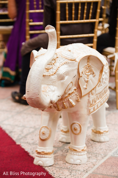 Floral & Decor in Charlotte, NC Indian Wedding by All Bliss Photography