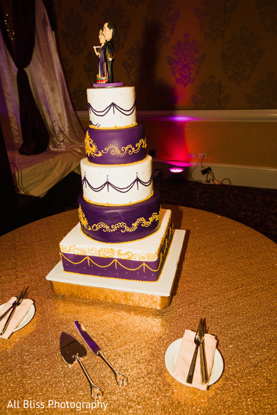 Cakes & Treats in Charlotte, NC Indian Wedding by All Bliss Photography