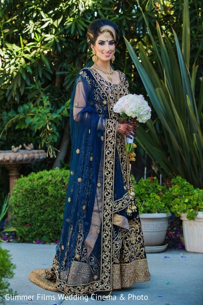 Bridal Portrait in Fremont, CA Sikh Wedding by Glimmer Films Wedding Cinema & Photo
