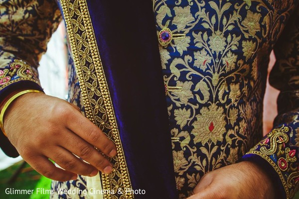 Groom Getting Ready in Fremont, CA Sikh Wedding by Glimmer Films Wedding Cinema & Photo