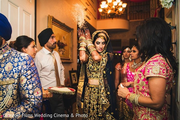 Ceremony in Fremont, CA Sikh Wedding by Glimmer Films Wedding Cinema & Photo