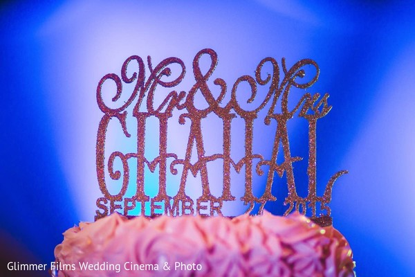 Cake Topper in Fremont, CA Sikh Wedding by Glimmer Films Wedding Cinema & Photo