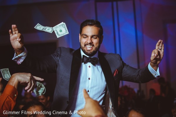 Reception in Fremont, CA Sikh Wedding by Glimmer Films Wedding Cinema & Photo