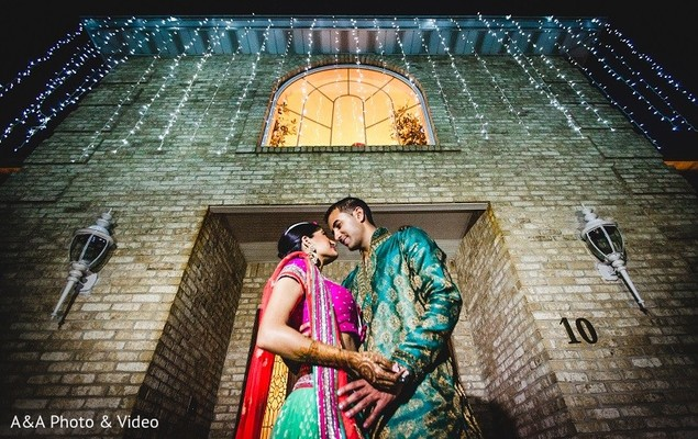 Pre-Wedding Portrait in Jersey City, NJ Indian Wedding by A&A Photo & Video