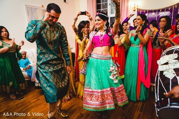 Mehndi Party in Jersey City, NJ Indian Wedding by A&A Photo & Video