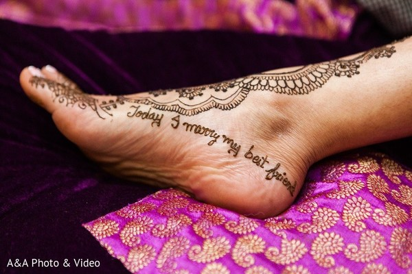 Mehndi in Jersey City, NJ Indian Wedding by A&A Photo & Video