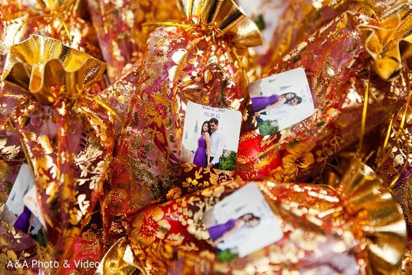 Mehndi Party Favors in Jersey City, NJ Indian Wedding by A&A Photo & Video