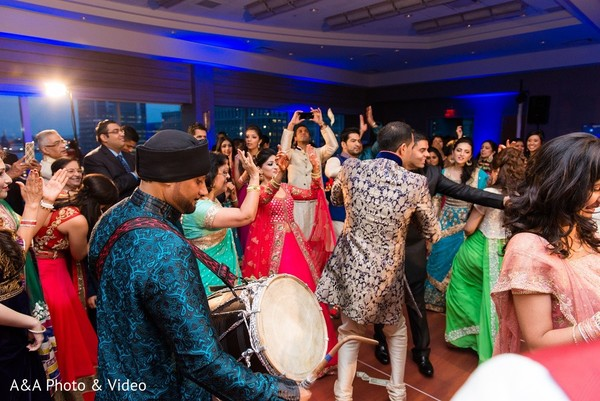 Sangeet in Jersey City, NJ Indian Wedding by A&A Photo & Video