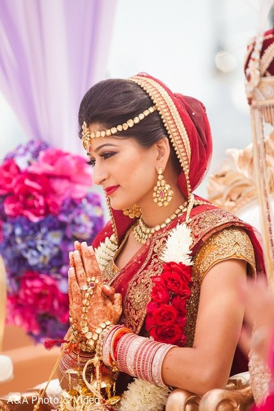 Ceremony in Jersey City, NJ Indian Wedding by A&A Photo & Video