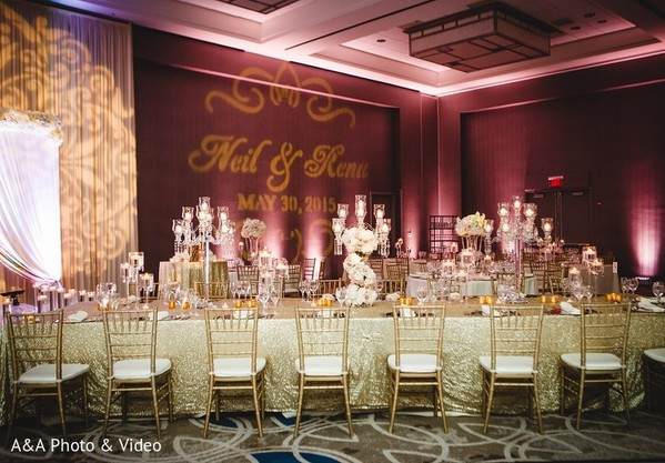 Floral & Decor in Jersey City, NJ Indian Wedding by A&A Photo & Video