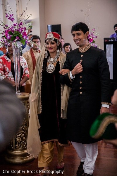 Ceremony in Roswell, GA South Asian Fusion Wedding by Christopher Brock Photography