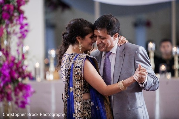 Reception in Roswell, GA South Asian Fusion Wedding by Christopher Brock Photography
