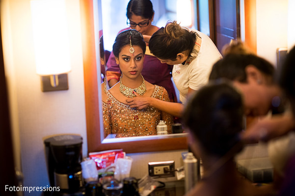 Getting Ready in Syracuse, NY Pakistani Wedding by Fotoimpressions