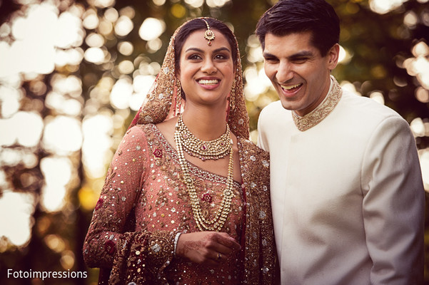 First Look in Syracuse, NY Pakistani Wedding by Fotoimpressions