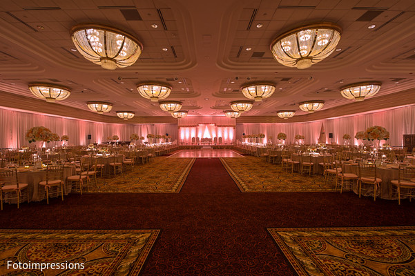 Venue & Lighting in Syracuse, NY Pakistani Wedding by Fotoimpressions