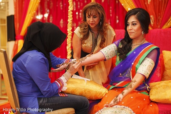 Mehndi Party in Irving, TX Indian Wedding by Hiram Trillo Art Photography