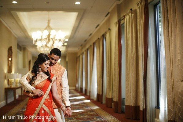 Pre-Wedding Portrait in Irving, TX Indian Wedding by Hiram Trillo Art Photography