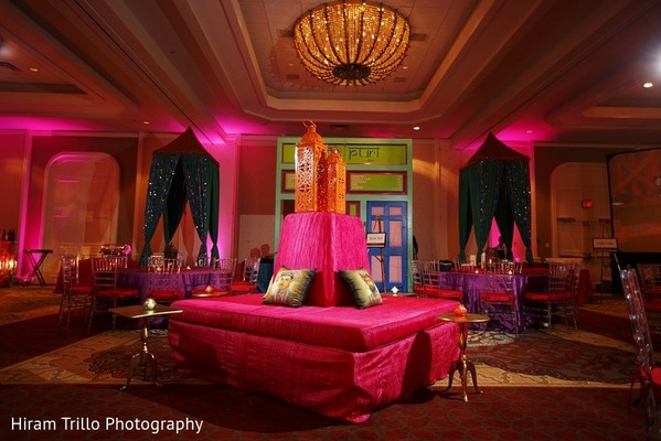 Pre-Wedding Decor in Irving, TX Indian Wedding by Hiram Trillo Art Photography
