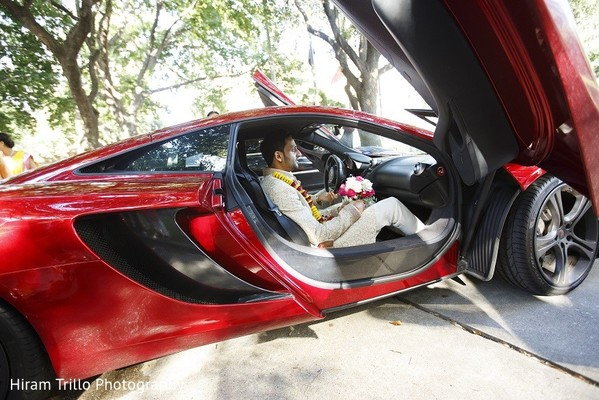 Baraat in Irving, TX Indian Wedding by Hiram Trillo Art Photography