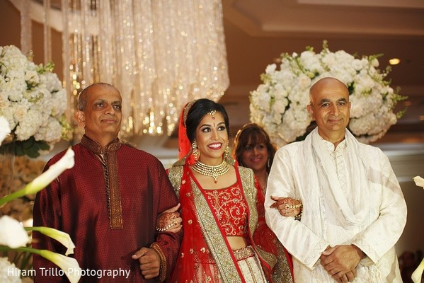 Ceremony in Irving, TX Indian Wedding by Hiram Trillo Art Photography