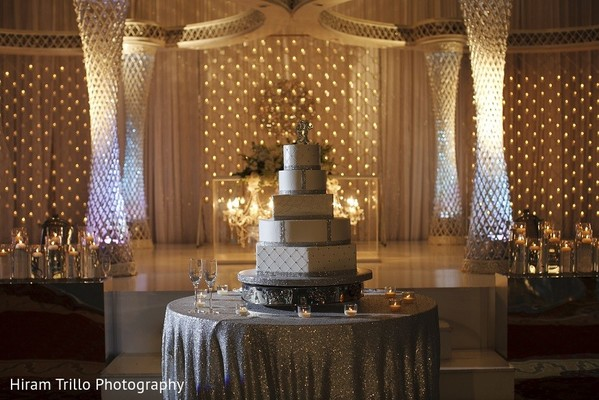 Wedding Cake in Irving, TX Indian Wedding by Hiram Trillo Art Photography
